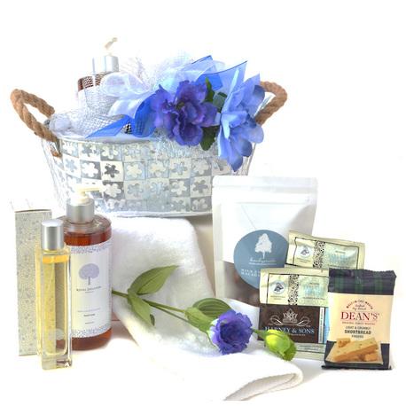 Floral Indulgence Gift Basket image 1