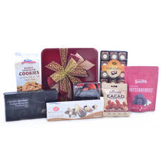 Cookies and Chocolates Gift Tin