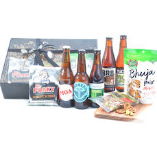NZ Beer Crate and Bar Snacks