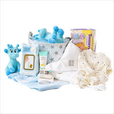 The Complete Baby Gift Hamper in Blue