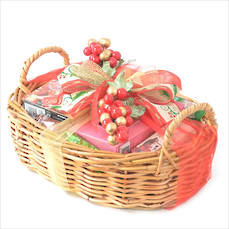 Warm Wishes Christmas Gift Basket