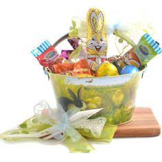 Let The Hunt Begin Easter Basket