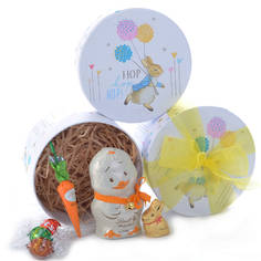 Easter gift baskets and chocolate gift boxes the easter bunny is here lindt easter gift box negle