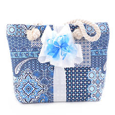 Lounging Around Gift Bag - Blue