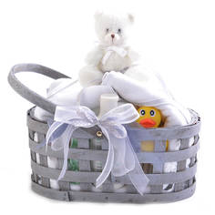 Nursery Essentials Gift Basket