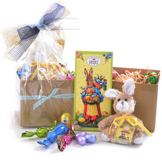 Easter gift baskets and chocolate gift boxes the easter bunny is here easter bunny gift box negle Image collections