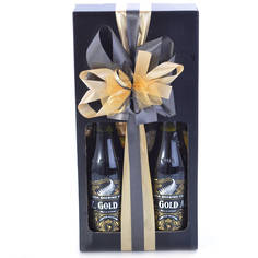 Limited Edition NZ Gold Moa Beer Gift Box