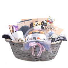 Peeping Felines Gift Basket