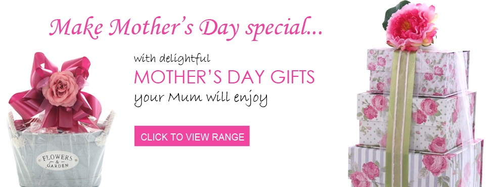 Mothers Day Gifts banner